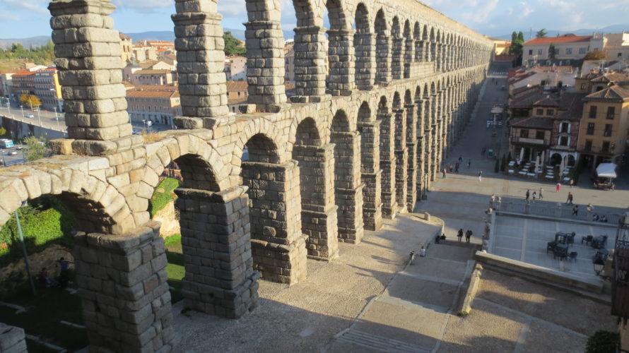 スペイン セゴビアの水道橋